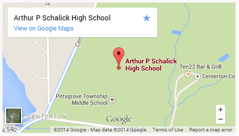 Schalick High School Map